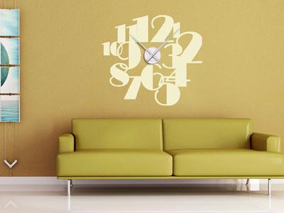 Wanddeko ideen f r eine gelungene wanddekoration wand deko - Grose wohnzimmer uhren ...