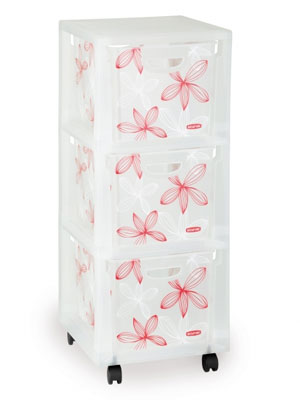 Curver Lilien Aufbewahrungsboxen