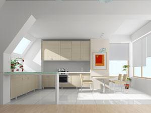 Farbakzente in der Küche