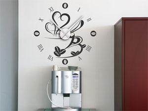 Wandtattoo Uhr Küche