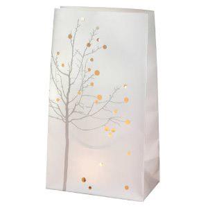 Lichttüte Design Baum