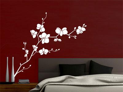 die sch nsten pflanzen und blumen als wandtattoo blumen wandtattoos. Black Bedroom Furniture Sets. Home Design Ideas