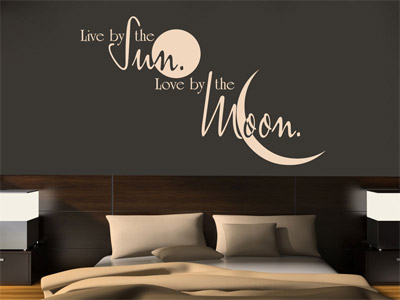 wandtattoo spruch flotte spr che f r aussagekr ftige w nde wandtattoos. Black Bedroom Furniture Sets. Home Design Ideas