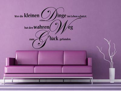 wandtattoo spruch flotte spr che f r aussagekr ftige w nde wandtattoos. Black Bedroom Furniture Sets. Home Design Ideas