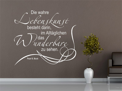 wandtattoo zitate intellektuelle deko mit einem zitat. Black Bedroom Furniture Sets. Home Design Ideas